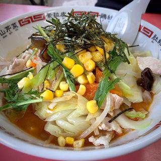冷やし担々麺(白龍 若林店)