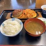 イタスパハンバーグ定食