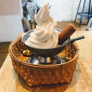 ココナッツミルクソフトクリーム