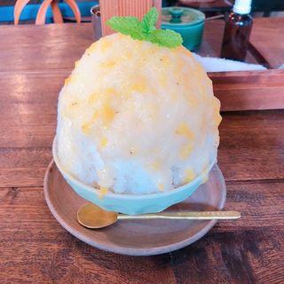 ミックスジュースかき氷