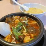 牛すじ麻婆麺