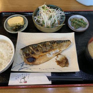 焼き鯖定食(キッチンタナカ)