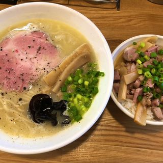 鶏白湯 塩(麺や 一想)