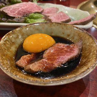 松阪牛レアステーキ