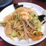 上海式炒め焼そば(上海炒麺)