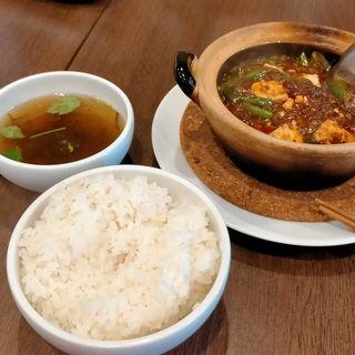 四川マーボー豆腐ランチ