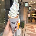 ソフトクリーム(グラノーラコーン×グラノーラ)