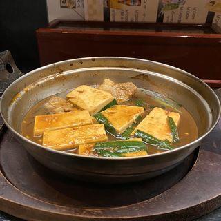 みそ豆腐(どて煮風)