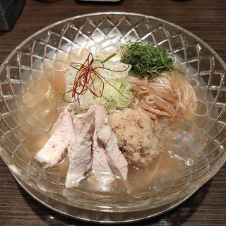 冷し生姜ラーメン(塩)(麺匠ぼんてん )