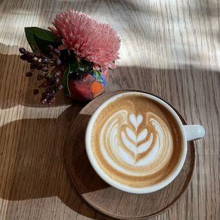 カフェラテ(パドラーズコーヒー 西原本店 (PADDLERS COFFEE))