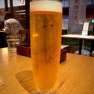 Asahi熟撰生ビール(中)