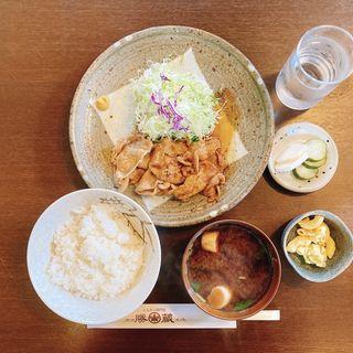 Cランチ(生姜焼き定食)
