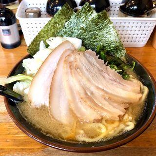 とき卵チャーシューメン+キャベツ(ラーメン大山家 (おおやまや))