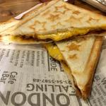 カレーチーズホットサンド