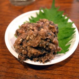梅たたき(五味鳥 (ごみとり))