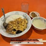 中華風チラシかけご飯