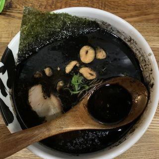 黒油ラーメン