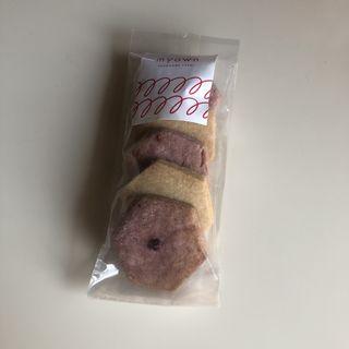 vegan ラズベリー&メープルクッキー