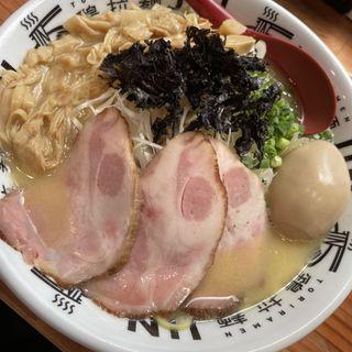 鶏白湯塩ラーメン特製(鶏拉麺JIN)