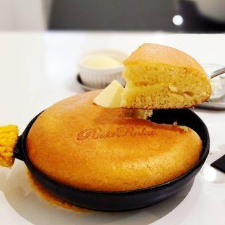 厚焼きフライパンケーキ(RusaRuka東京自由が丘店)