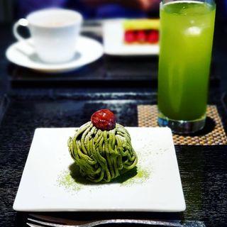 抹茶モンブラン(寿月堂 銀座歌舞伎座店 )