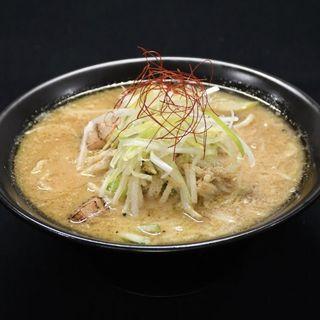 鴨だし味噌ラーメン(Noodleshop arakawa)