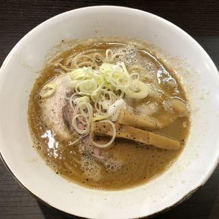 鶏豚魚介 noodle