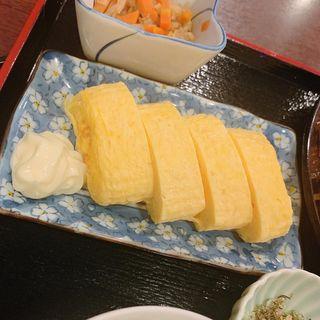 玉子焼ハーフ(味の正福 アクロス店 (あじのまさふく))