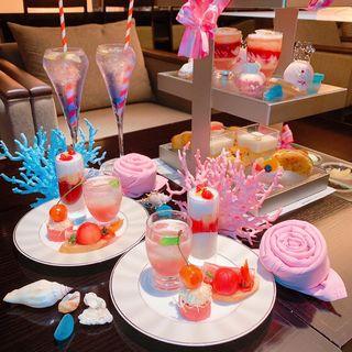 Summer Pink Afternoon tea (ANAクラウンプラザホテル大阪)