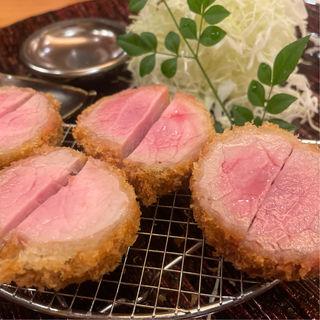 三元豚ヘレカツ シャトーブリアン定食