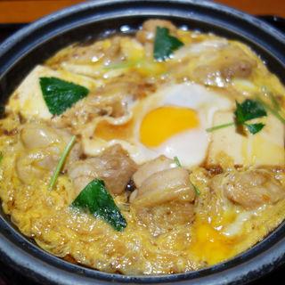 親子鍋定食(定食屋 百菜 旬 イオンスタイル笹丘店)