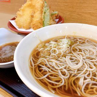 天ぷらセット(いわもとQ 歌舞伎町店 (いわもときゅー))