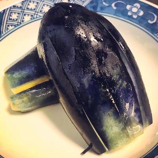 水茄子の浅漬け(泰明庵)