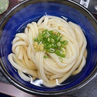 冷たいうどん(日の出製麺所)