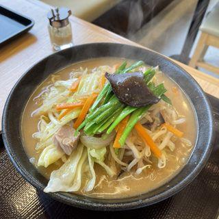 野菜たっぷり味噌タンメン(夢天下 佐倉本店)