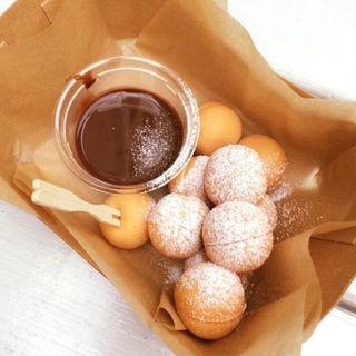 生チョコフォンデュ