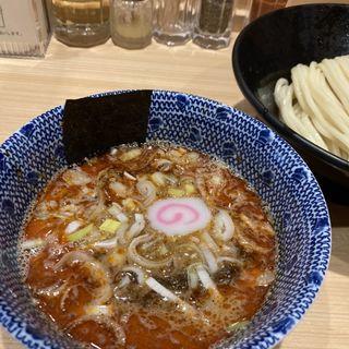 辛味噌 つけ麺 (並盛り)