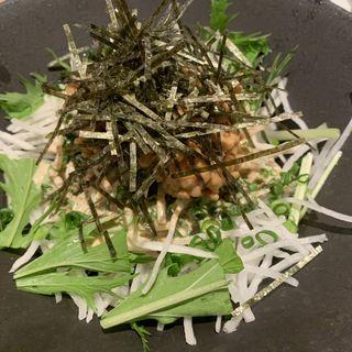 北海道産納豆のネバネバ大根ローリング30サラダ(いただきコッコちゃん マーブルロード店 )