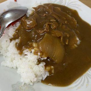 半カレーライス(いずみ食堂 )