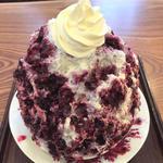 ブルーベリーのミルク&ヨーグルトチーズケーキ