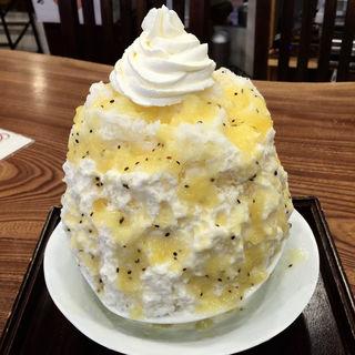 ゴールデンキウイのミルク&チーズケーキ(梵くら )