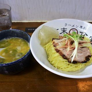 会津地鶏の濃厚醤油つけ麺