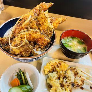 江戸前活穴子天丼(天ぷら 徳仙 )