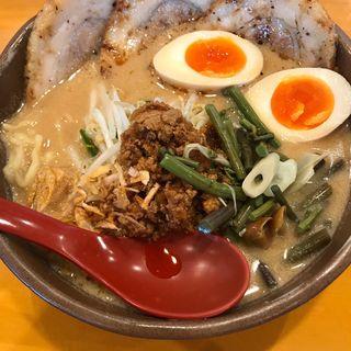 信州みそ味噌漬け炙りチャーシュー麺