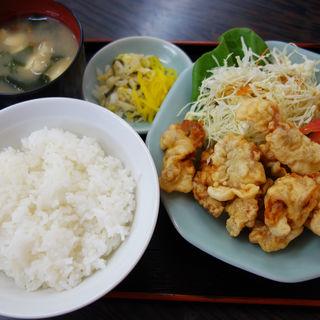豚天定食(味噌汁付き)