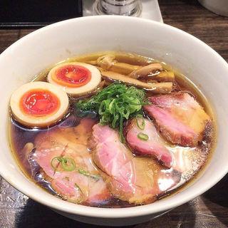 特製中華そば(醤油)