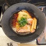 地鶏醤油soba