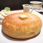 石窯焼きホットケーキ(石釜 ベイクブレッド 茶房 タムタム (石釜 bake bread 茶房 TAM TAM))