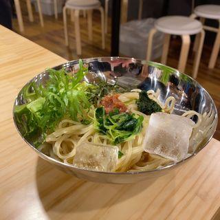 季節の和冷麺
