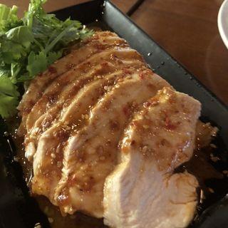 四川風よだれ鶏 ~ピリ辛胡麻ソース~
